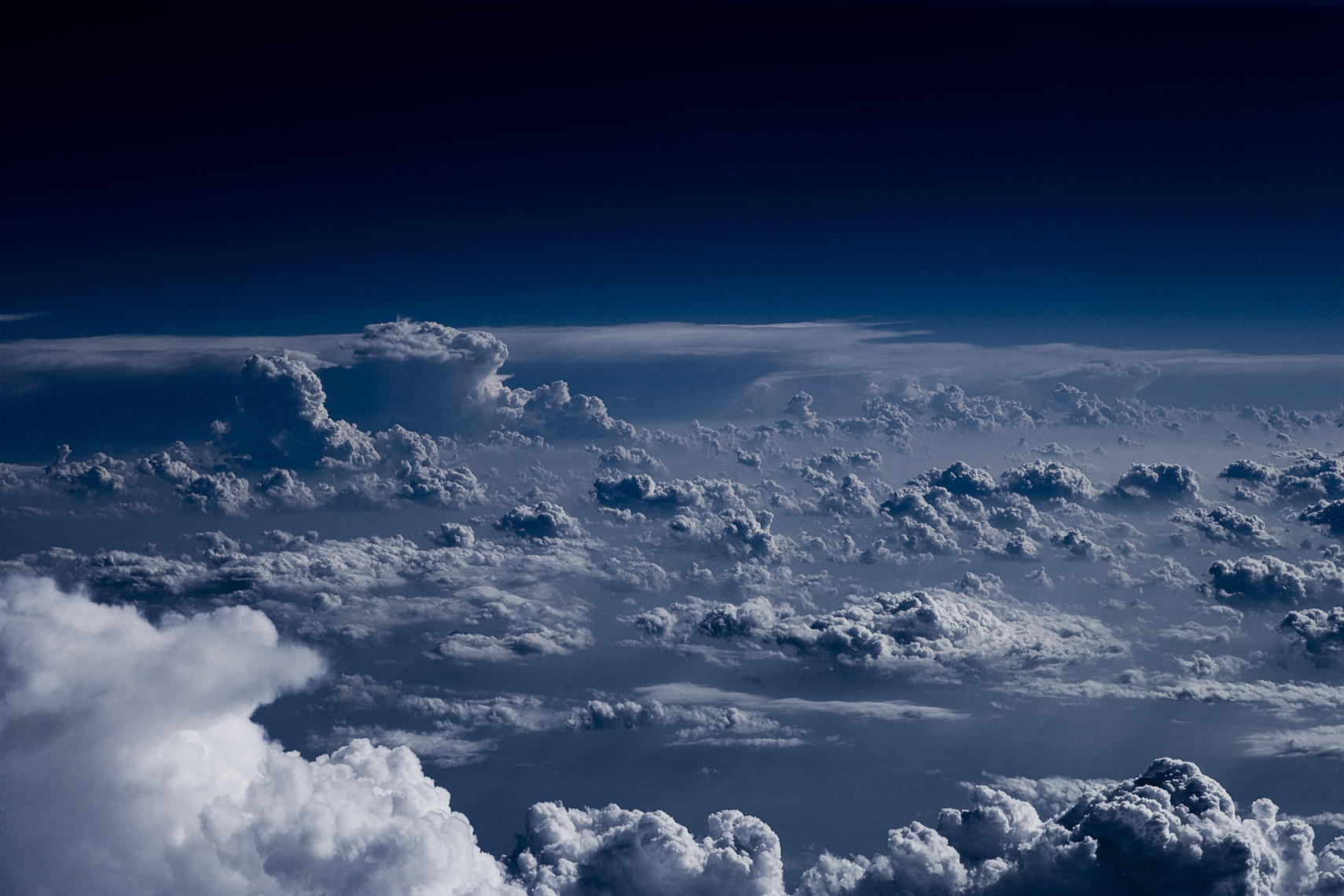clouds at 30,000 ft