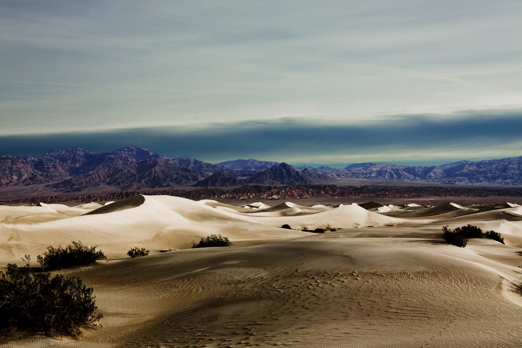 Death Valley Mesquite Flat sand dunes